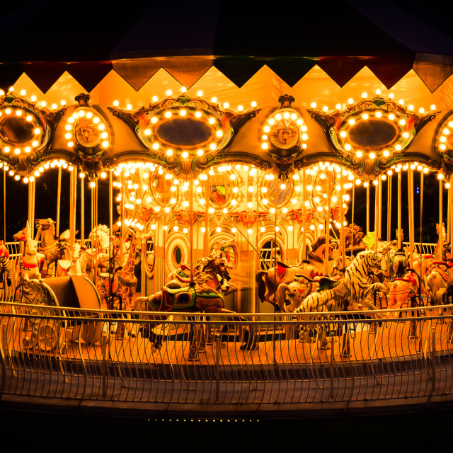 """Quiet Carrousel"" stock image"