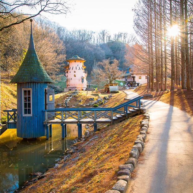 """Moomin Village"" stock image"