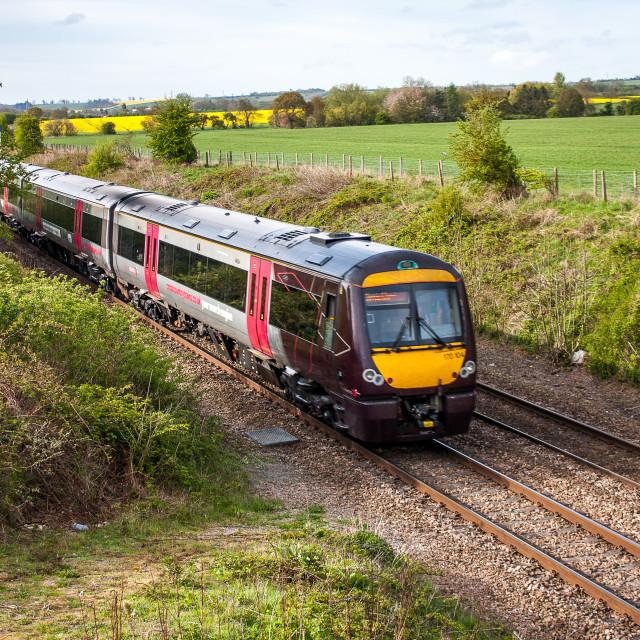 """Passenger Train"" stock image"