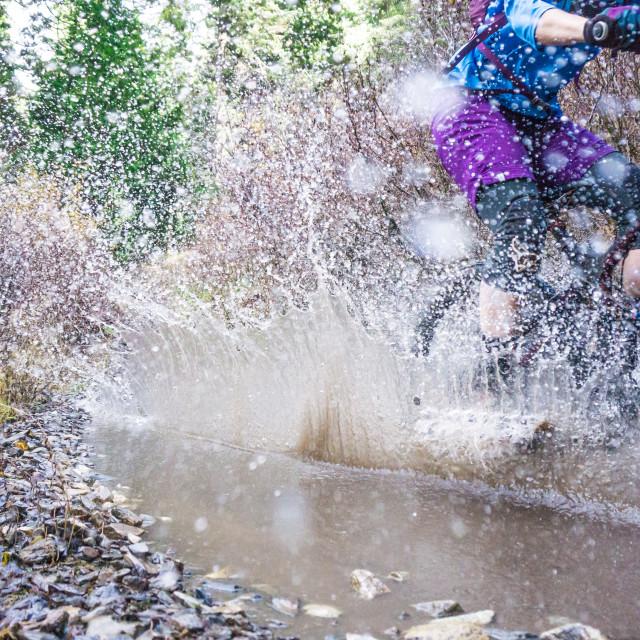 """Splash!"" stock image"