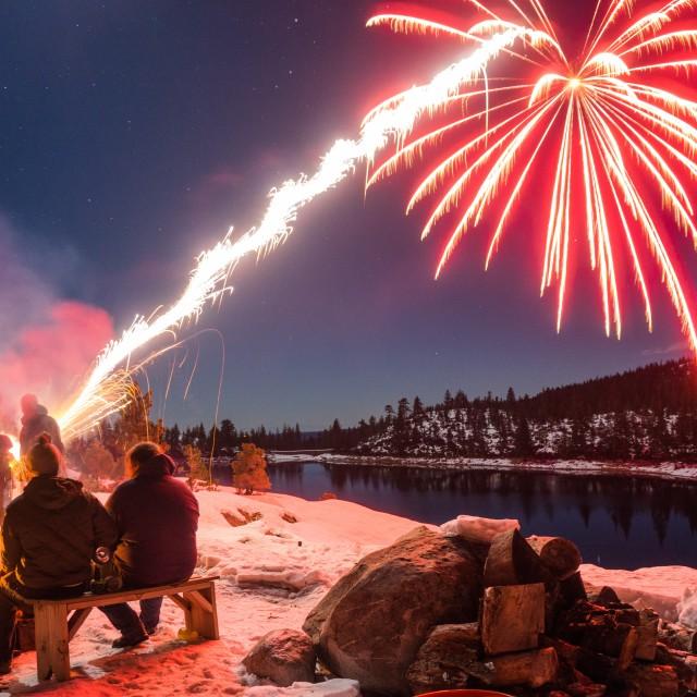 """Fireworks!"" stock image"