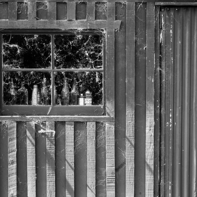 """Broken Down Barn"" stock image"