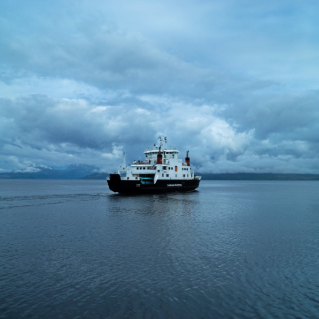 """Morning Ferry"" stock image"