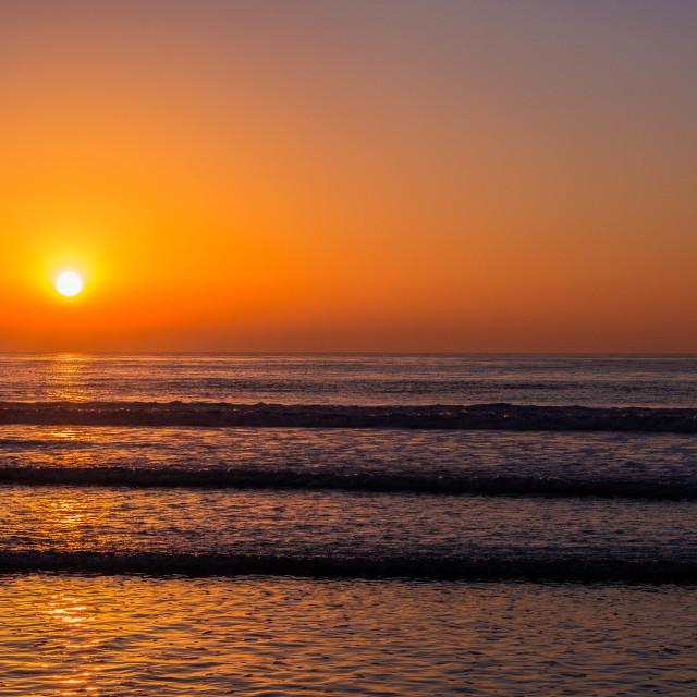 """Socal Sunset"" stock image"
