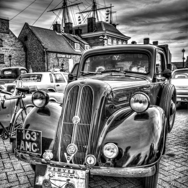 """Vintage car"" stock image"