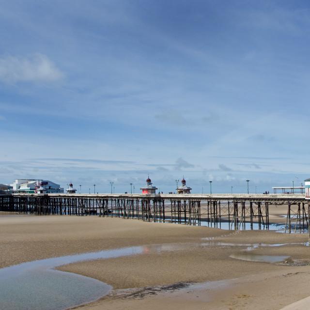 """Blackpool North Pier"" stock image"