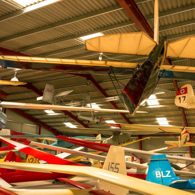 """Vintage gliders"" stock image"