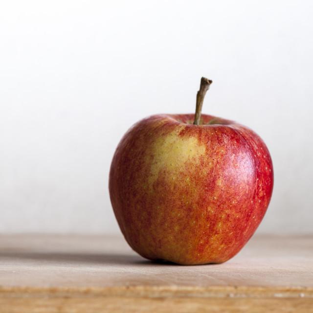 """Rosy apple"" stock image"