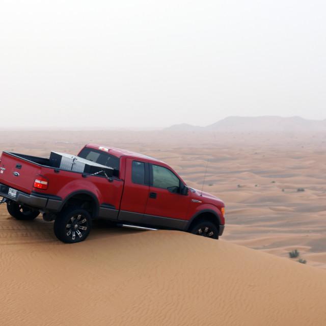 """""""Dune Bashing"""" stock image"""