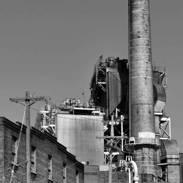"""Paper Works Chimney"" stock image"