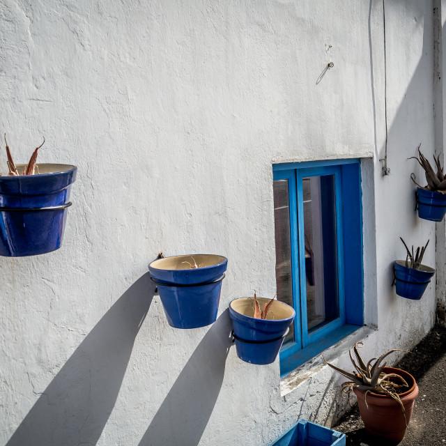 """""""House, El Cotillo"""" stock image"""