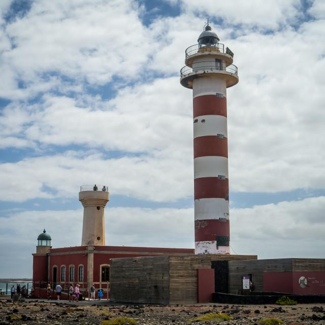 """""""Faro del Toston"""" stock image"""