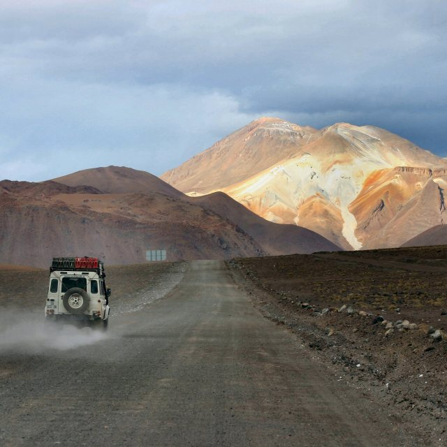 """Travelling around Bolivia"" stock image"