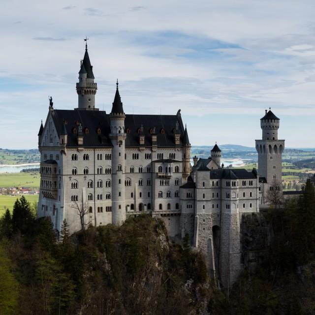 """Romantic castle"" stock image"