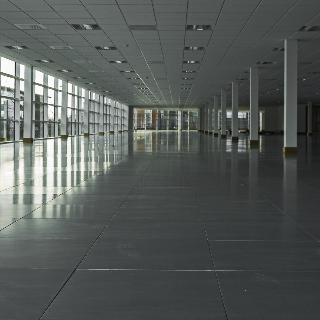 """Empty office building"" stock image"