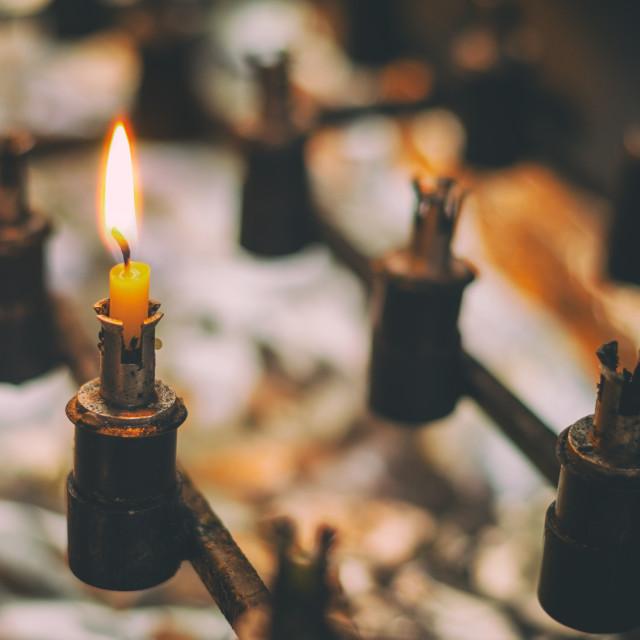 """Light Of Hope"" stock image"