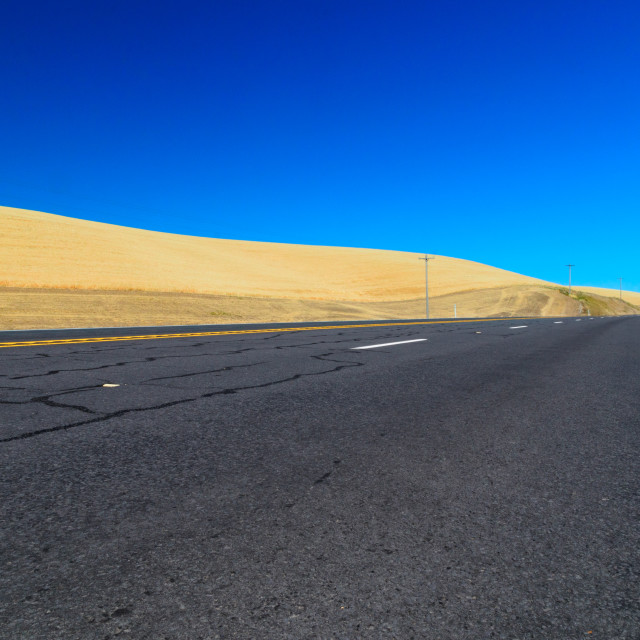 """Open road"" stock image"