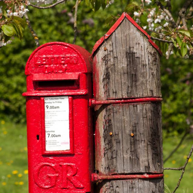 """Letter Box"" stock image"