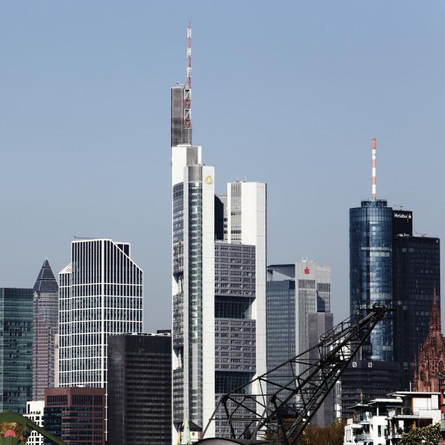 """Frankfurt 26"" stock image"