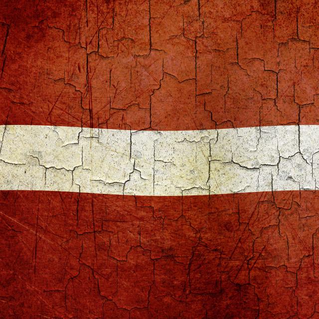 """""""Grunge Latvia flag"""" stock image"""