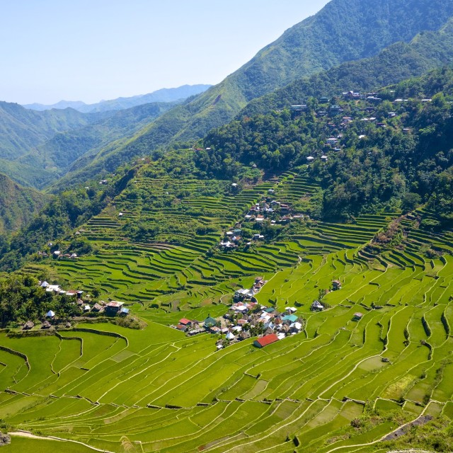 """The village Batad"" stock image"