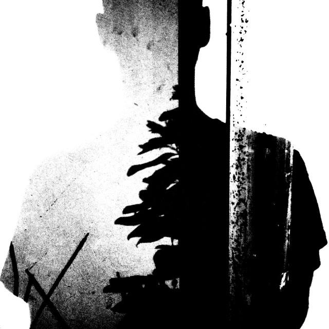 """selfie shadow"" stock image"