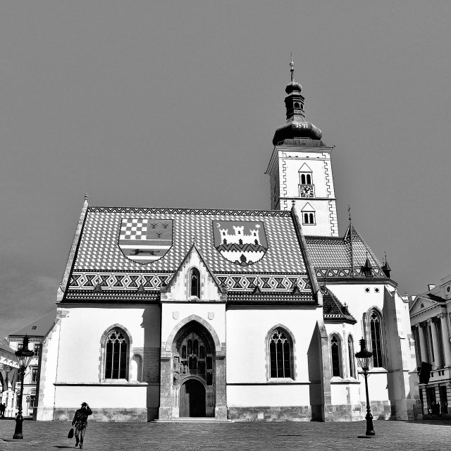 """Church St. Marco"" stock image"