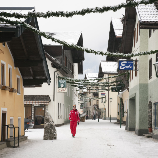 """Rauris Austria winter"" stock image"