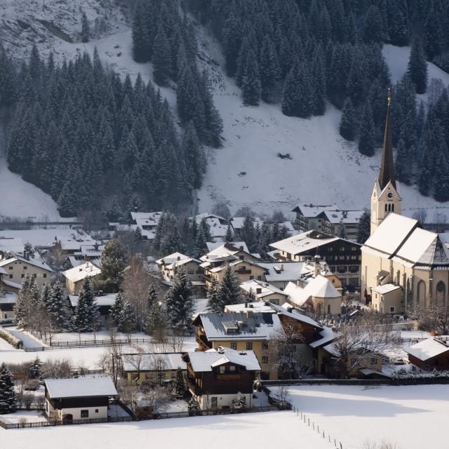 """Rauris Austria Alps"" stock image"