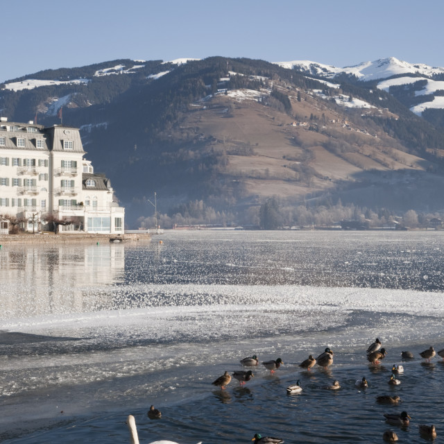 """Zell am See Austria"" stock image"