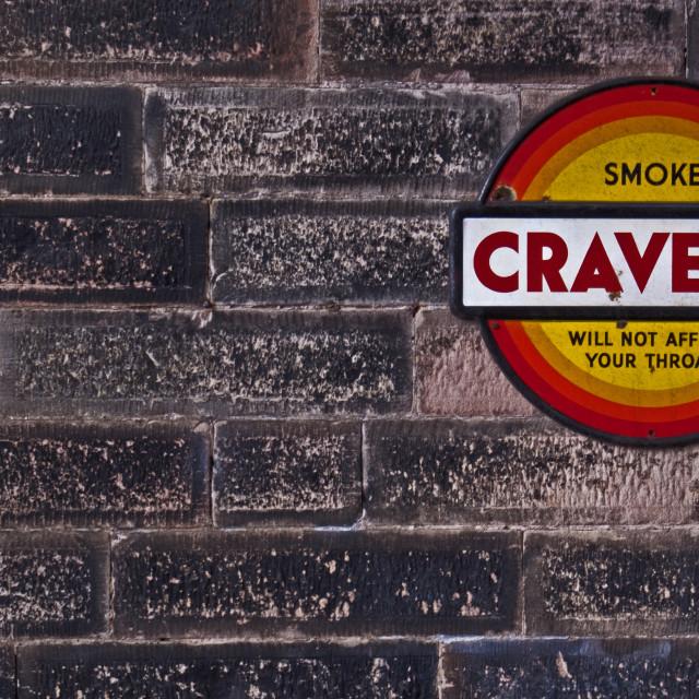 """Smoking Sign"" stock image"