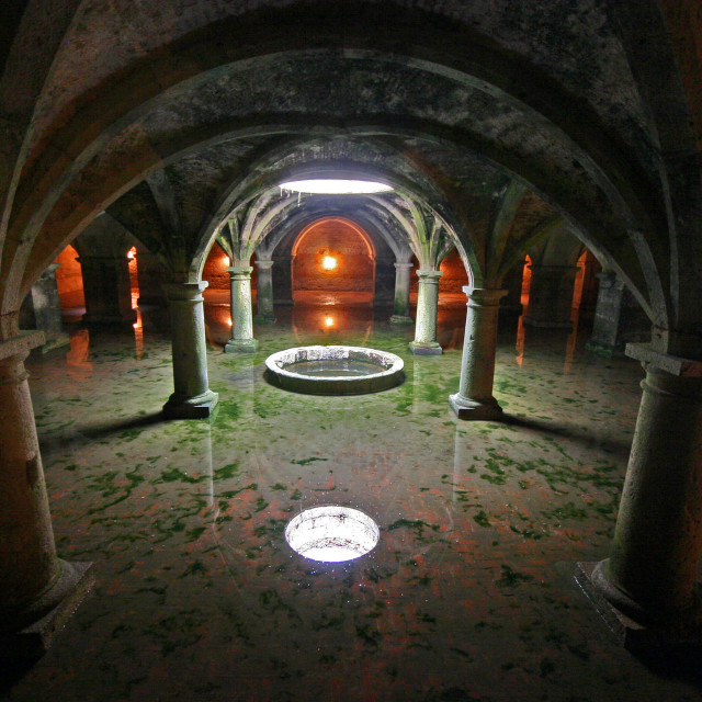 """The Portuguese Cistern"" stock image"