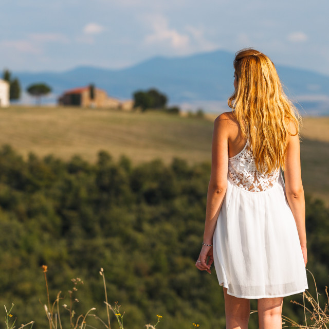 """Tuscany view"" stock image"