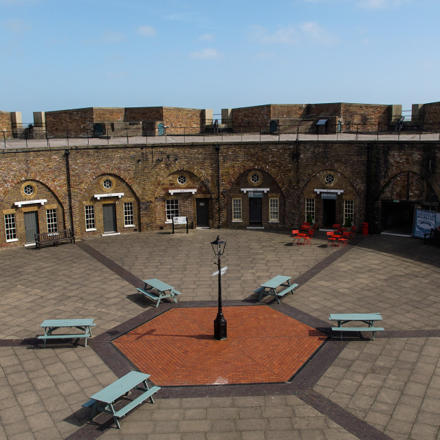 """""""Redoubt Fortress Eastbourne"""" stock image"""