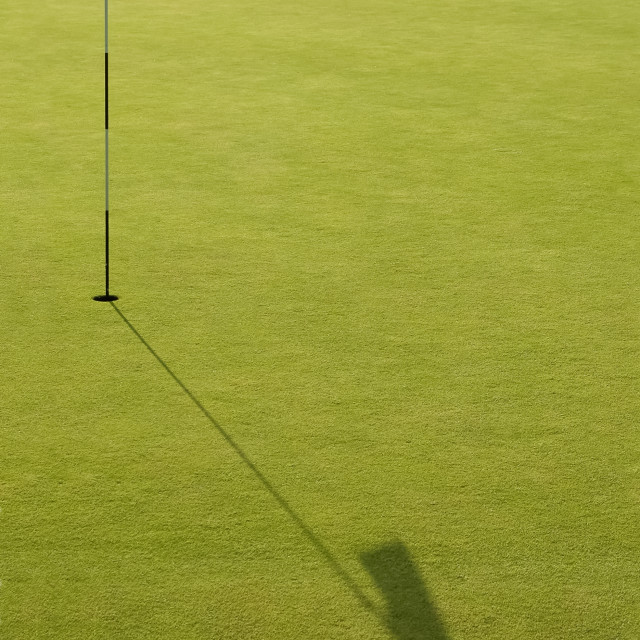 """golf green"" stock image"