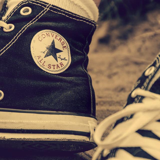 """""""Converse Nostalgic"""" stock image"""