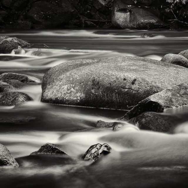 """River with Stones"" stock image"