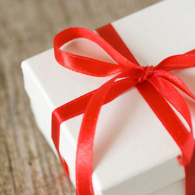 """Gift box"" stock image"