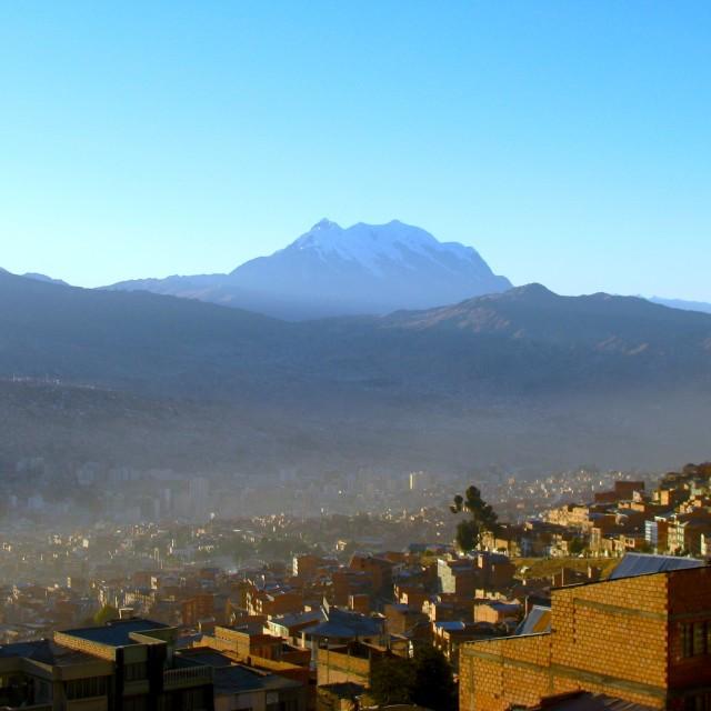 """La Paz Bolivia"" stock image"