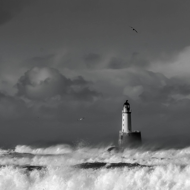 """Rattray lighthouse"" stock image"