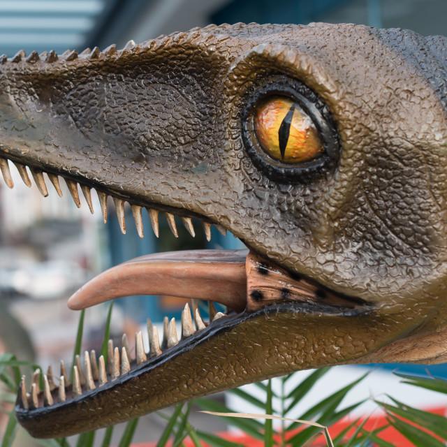 """Dinosaur World - Torquay"" stock image"