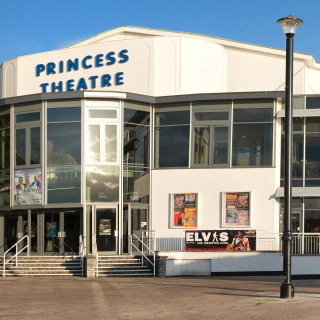 """The Princess Theatre Torquay"" stock image"
