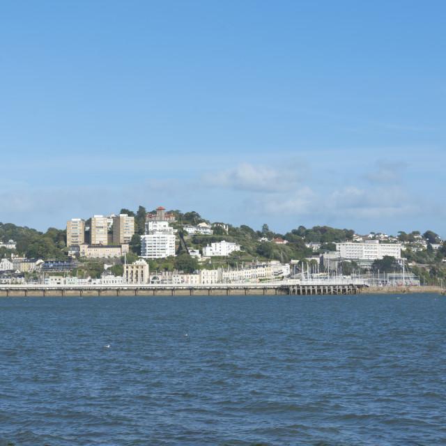 """Torquay Waterfront"" stock image"