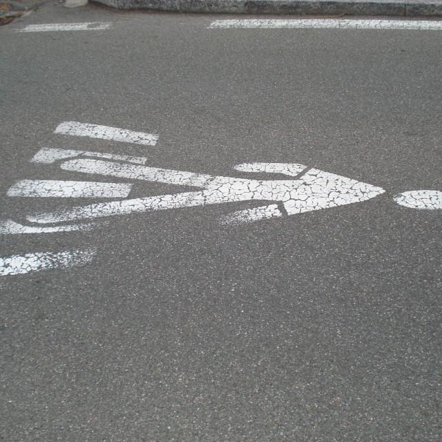 """Road crossing"" stock image"