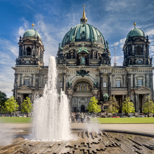 """Berlin Cathedral, Germany"" stock image"