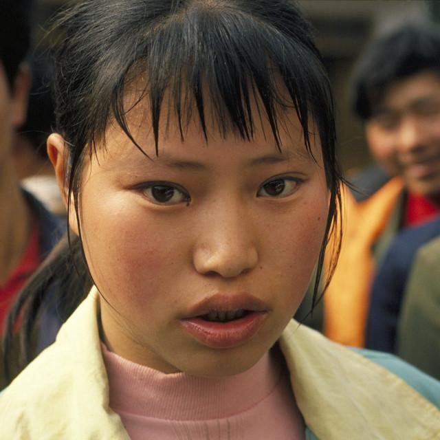 """""""Han Girl, China"""" stock image"""