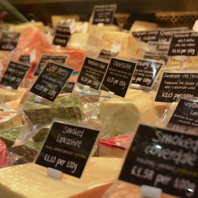"""Cheese Counter"" stock image"