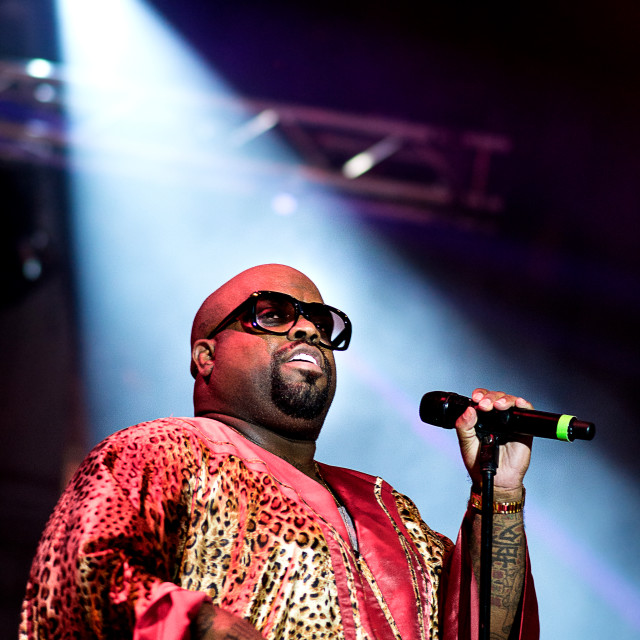 """Cee Lo Green"" stock image"