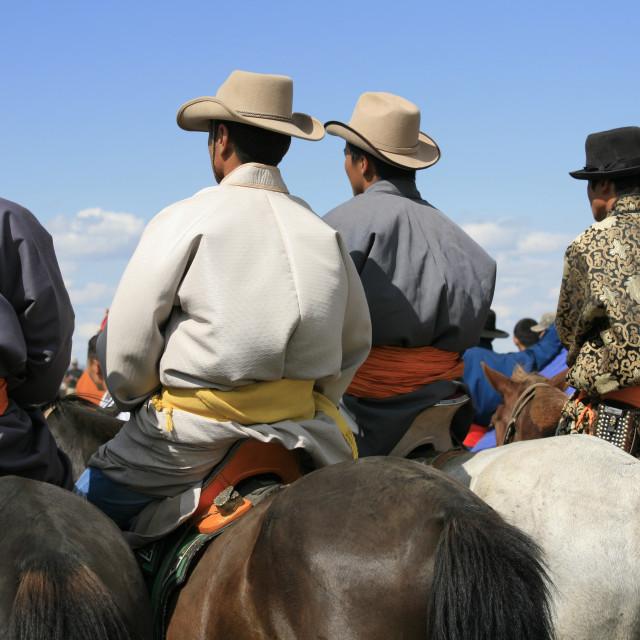 """""""Naadam, Karakorum, Mongolia"""" stock image"""