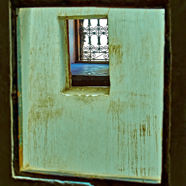 """View through a Window"" stock image"